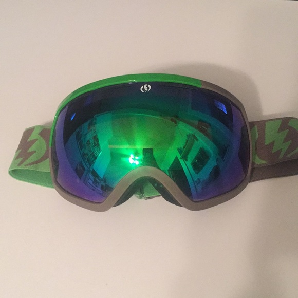 cf36e8f6602 electric Other - Electric Ski Snowboard Green Mirror Goggles